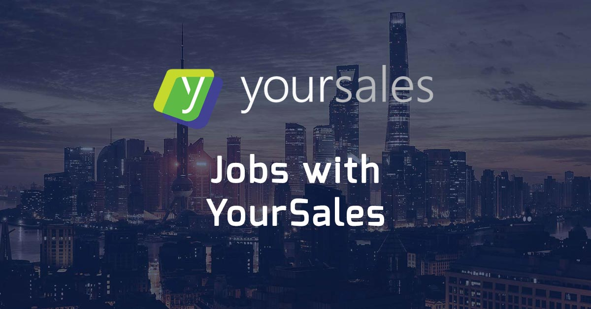 Jobs with YourSales
