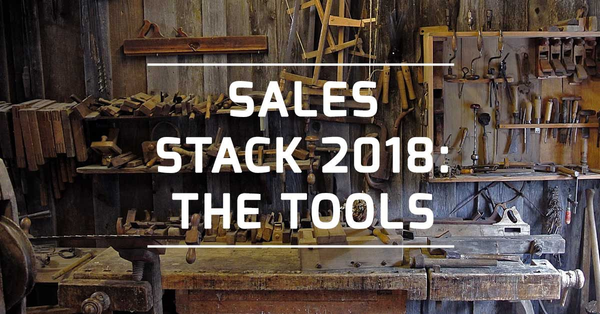 YourSales sales stack 2018 tools featured
