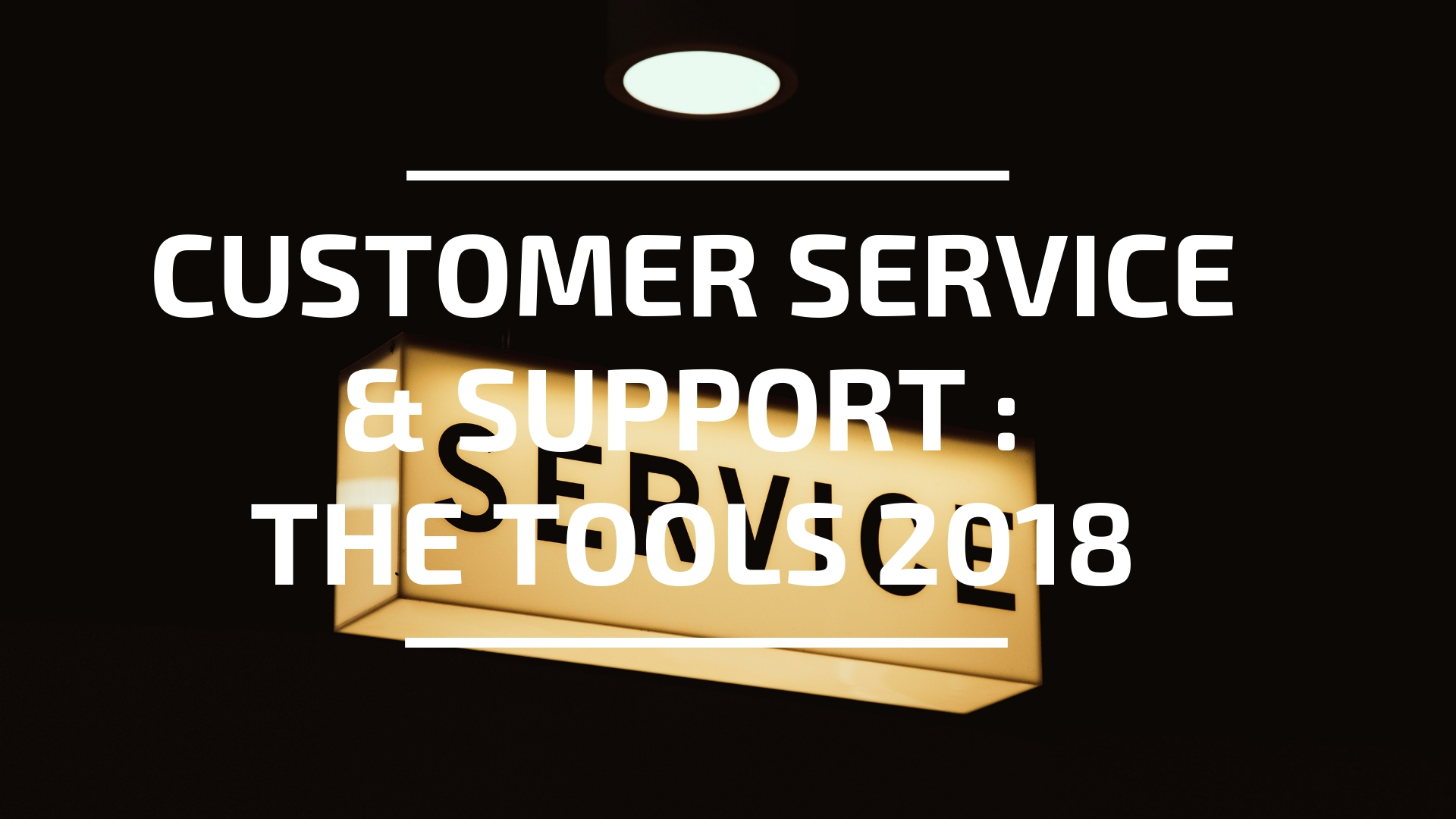 Customer Service Tech header