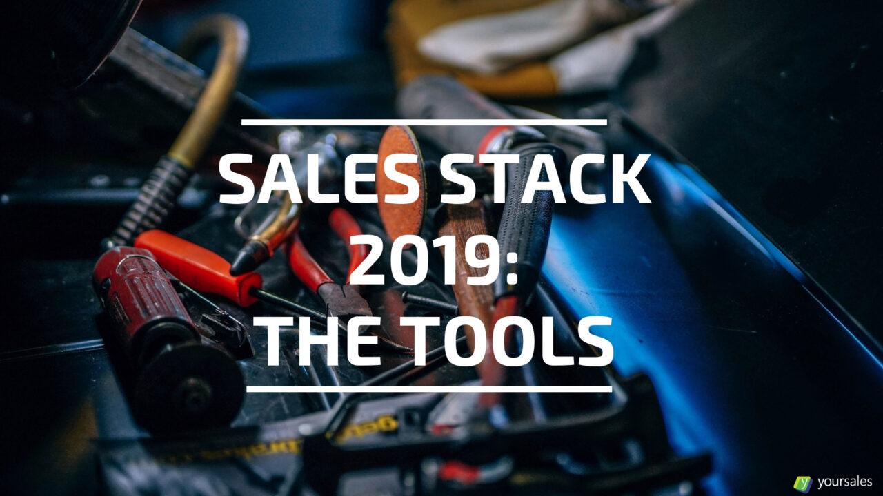 Sales Stack 2019