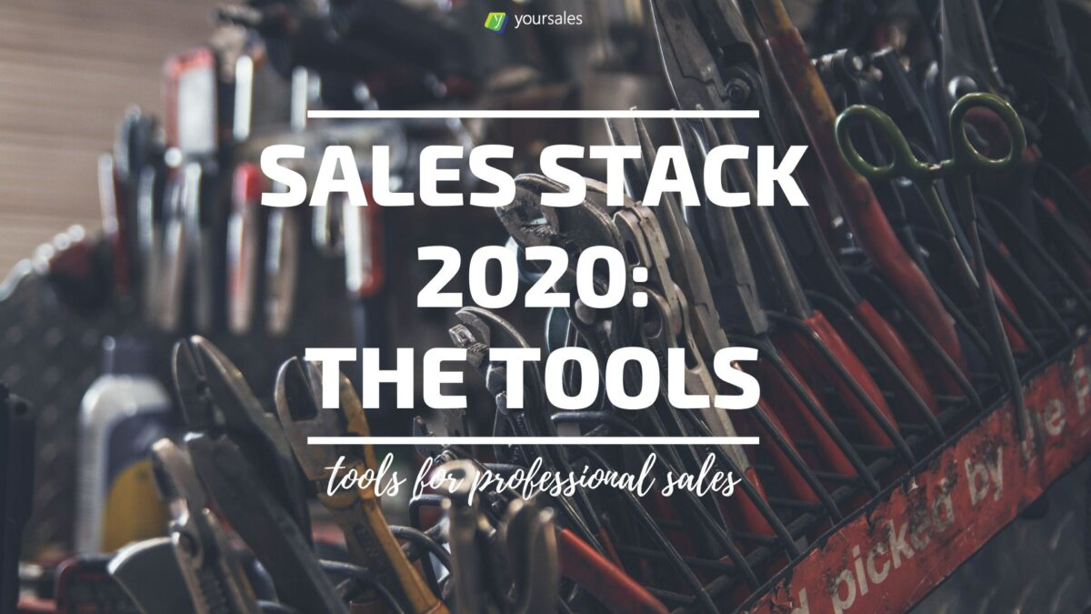 Sales Stack 2020 header illustration