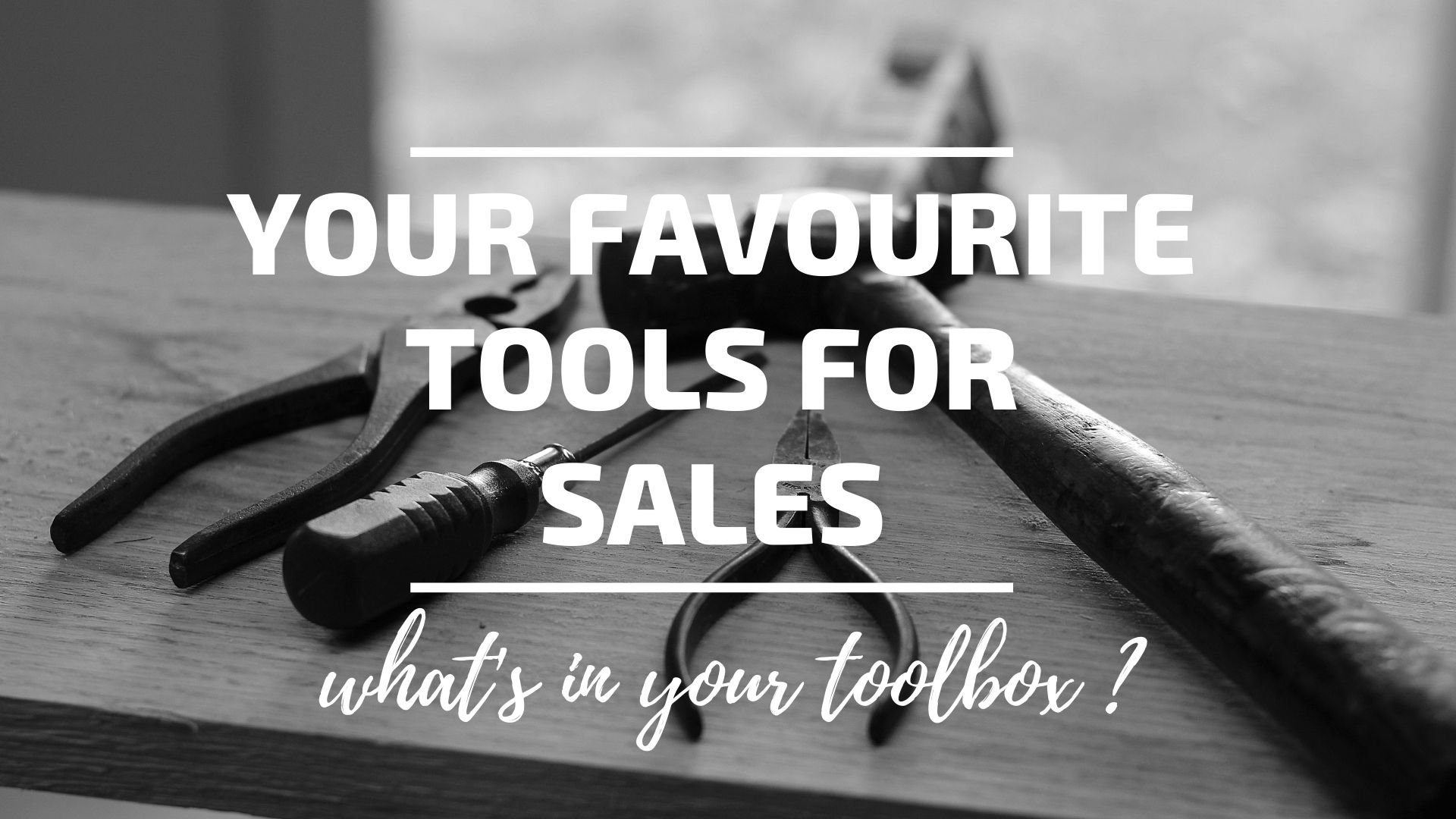 Your Favourite Sales Technology