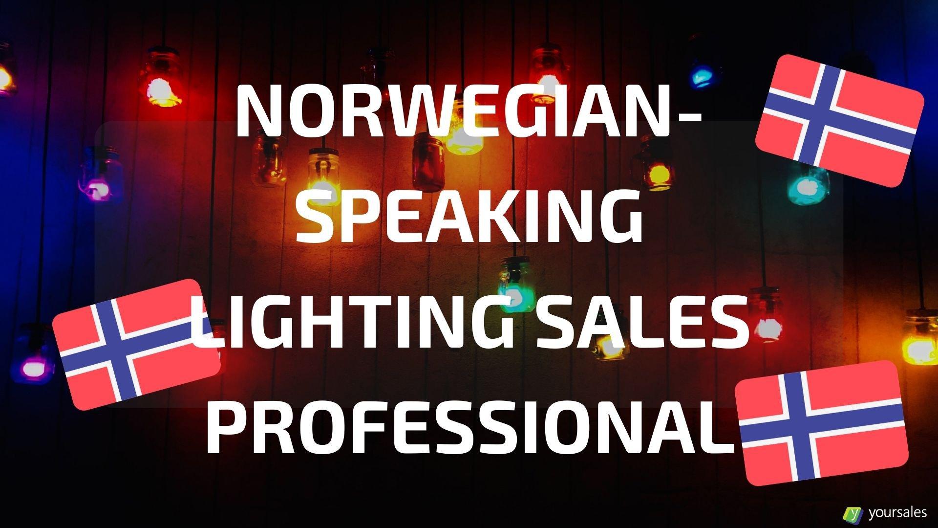 Norwegian-speaking Lighting Products Inside Sales