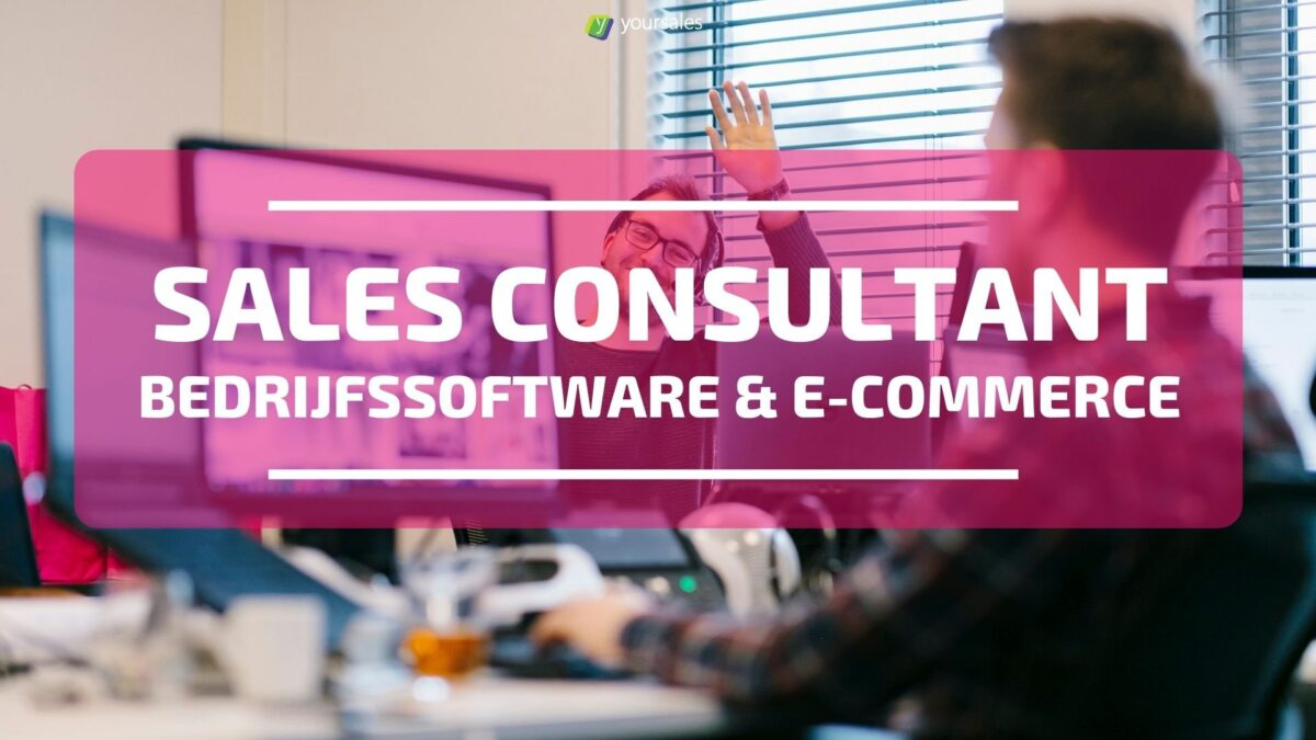 Sales Consultant Bedrijfssoftware & E-Commerce